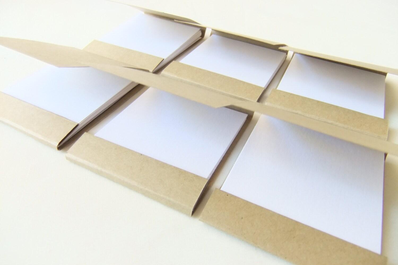 Mini matchbook notepad Custom matchbook Personalized