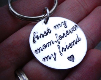 Mother's Day Gift for Mom - Mom Keychain - Gift from Daughter - Gift from Son - Christmas gift for Mom - Mother Daughter Gift