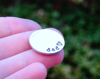Fathers Day Gift - Golf Marker For Dad - Personalized Daddy Golf Marker - Golf Gifts for Dad - Golf Accessories for him