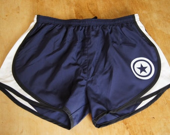 Captain America Work Out Shorts - Gym, Work Out, Exercise, Athletic, Running Clothing