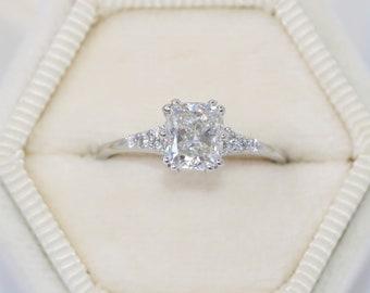 1 carat Lab Diamond Engagement Ring