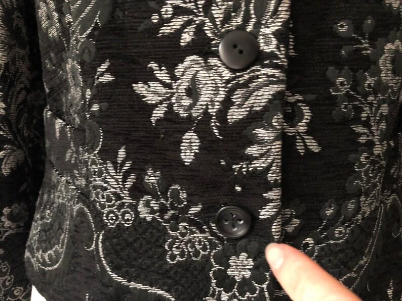 Byblos Black Floral Jacket