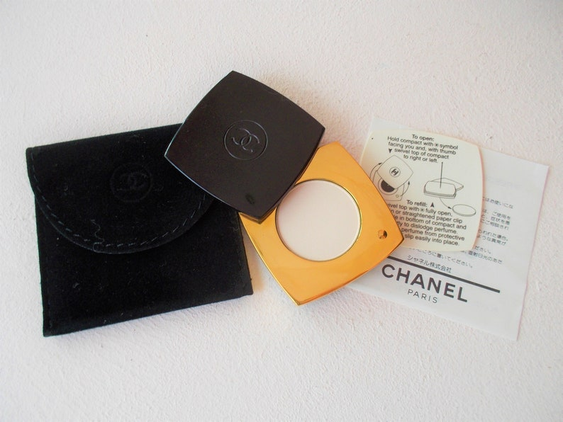 Unused Chanel Limited Edition No 5 Pressed Perfumeparfum In Etsy