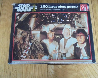 Star Wars Jigsaw Inside the Millenium Falcon 1977 - Waddingtons