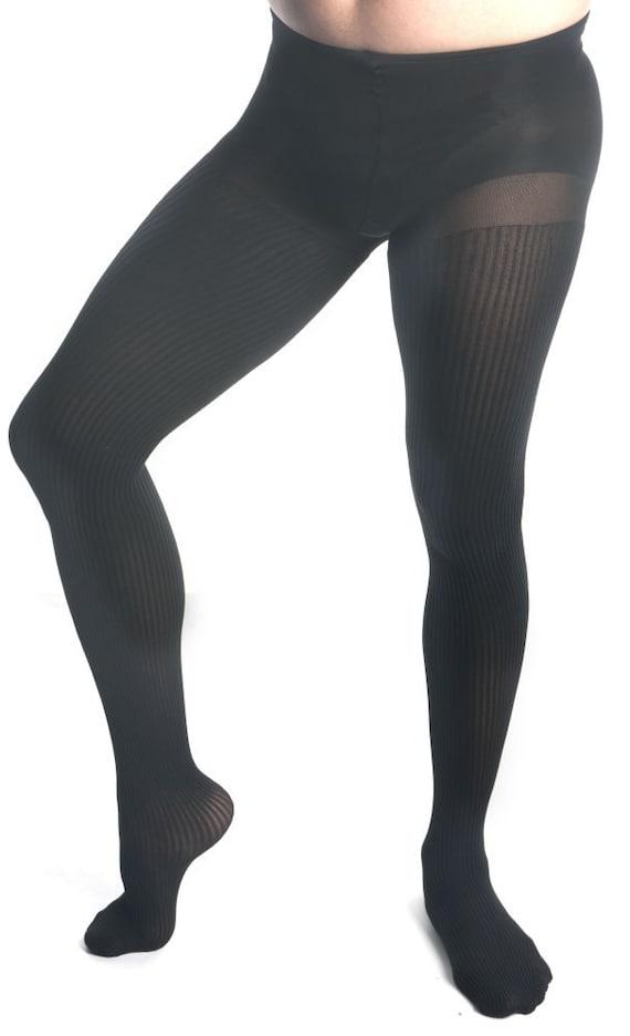Crossdressing Mantyhose Sheer Black Pantyhose Made For Men Mens Pantyhose
