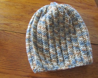 Hat, adult, crocheted slouch hat
