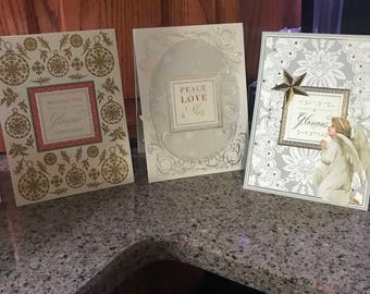 Set of 5 Anna Griffin pop up Christmas cards