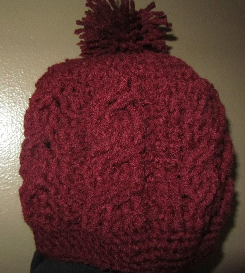 Hat Adult crocheted cap