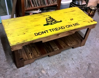 Beatles Handmade Let It Be Coffee Table From Etsy