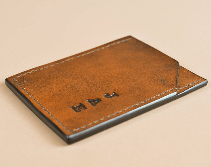 Thin Card Wallet - Basic Credit Card Sleeve - Vertical Wallet - 001