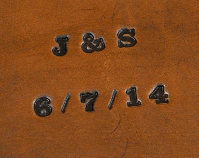 Font #7 - Stamped Font