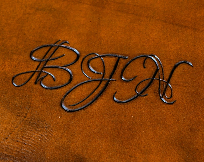Font #4 - Engraved Script