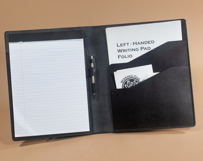 Left Handed Legal Pad Portfolio