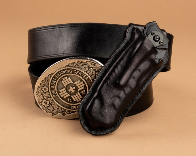 Custom Wet Formed Knife Sheath - Belt Carry