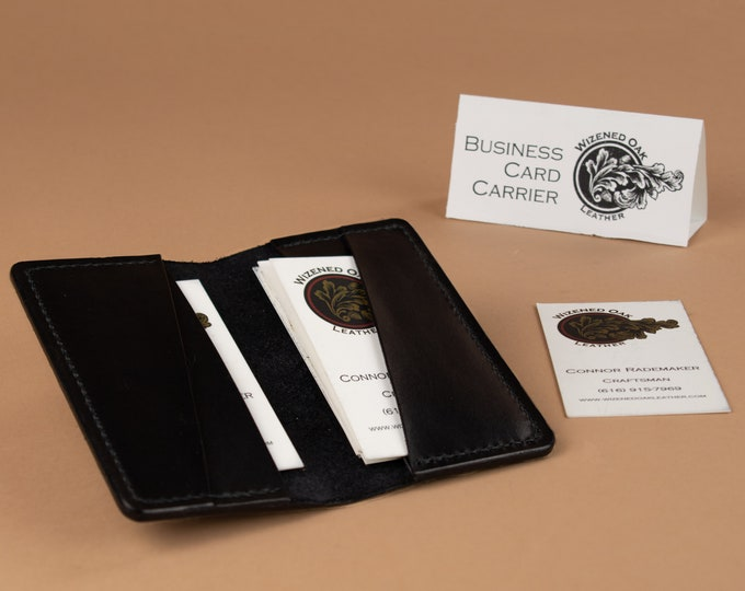 Business Card Carrier Wallet