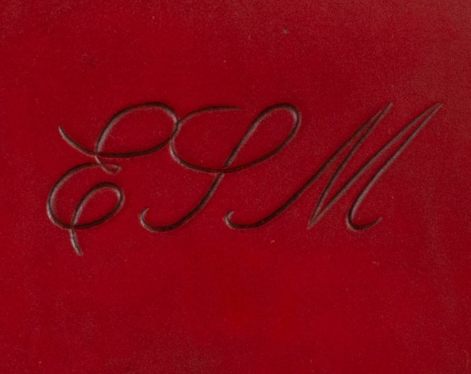 Font #1 - Engraved Script