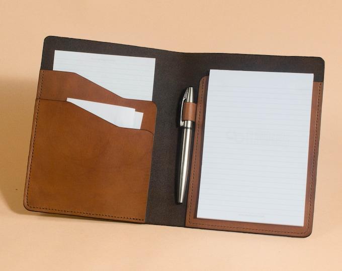 Small Writing Pad Folio - 5 x 8 Legal Pad Folder