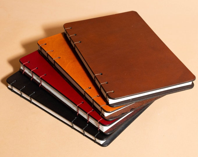Sketchbook with Lay Flat Binding- Coptic Bound