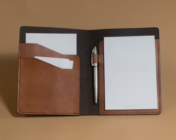 Small Writing Pad Folio - 5 x 8 Legal Pad Folder