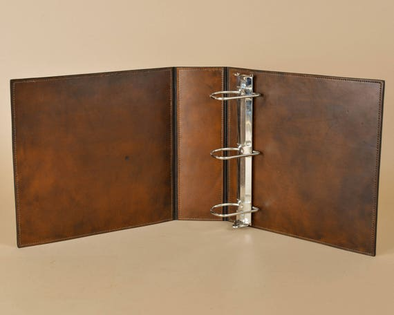 Leather Binder - Presentation Binder - 3 Ring - Portfolio - Album