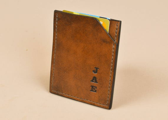 Thin Card Wallet - Basic Credit Card Sleeve - Vertical Wallet - 001