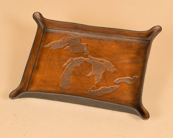 Michigan Great Lakes Carving State Engraving