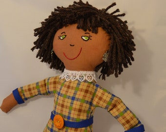 USA Made Stuffed Cloth Doll