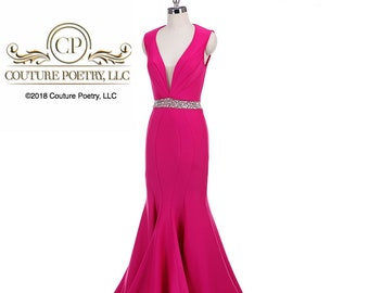 Pink Tank Style Gown