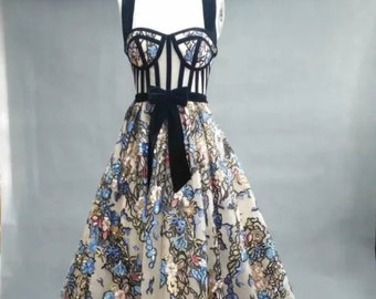 Floral Couture Gown