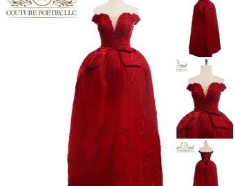 Red Carpet Ball Gown