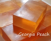 Glycerin soap, hand soap, clear soap, guest soap, aloe soap