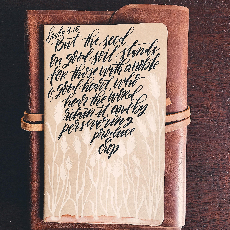 Aquarell Gebet Zeitschrift personalisierte Bibel Journal | Etsy