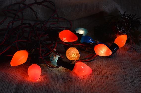Vintage Christmas Lights.Christmas Lights In Original Box Vintage Noma Holiday Lights Vintage Christmas Tree Lights