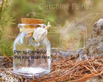 Personalized Photomontage Catching Fairies
