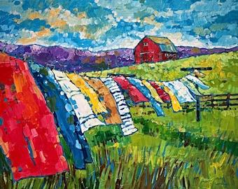 Laundry Day (Fine Art Print)