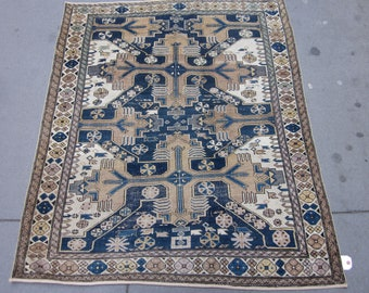Ancien Tapis De Dispersion Shirvan Caucasien Chi Chi Caucase Etsy