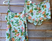 Pjs Cami and Short Set, Rifle Paper Co. Floral Sleepwear, Pajama Gift Set, Size Medium.