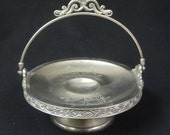 8 39 39 Union Silver Plate Co Quadruple Plate Footed Candy Dish Server