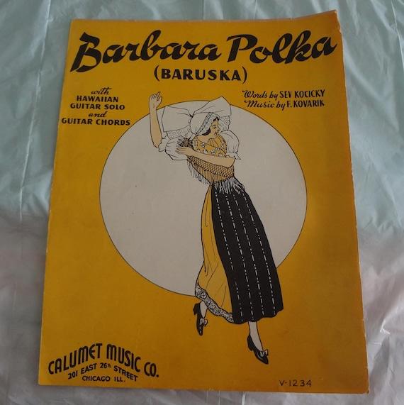 BARBARA POLKA Baruska with Hawaiian Guitar Solo and Guitar