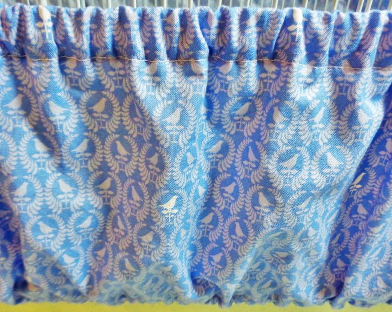 LARGE  Bird Cage Set in Medium Blue