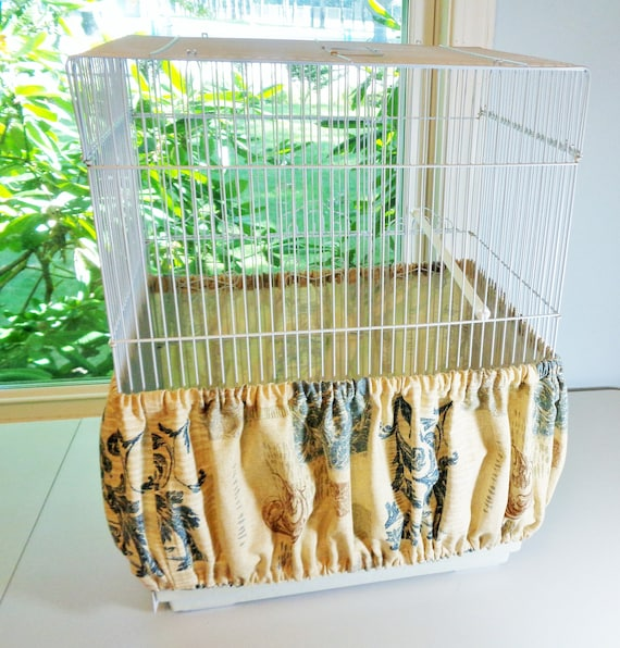 LARGE Bird Cage Seed Catcher Skirts