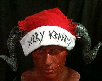 Merry Krampus - santa hats