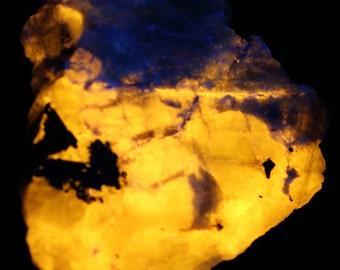 Beautiful Fluorescent Sodalite from Greenland