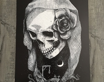 Sorrow - Art print by We Are All Corrupted