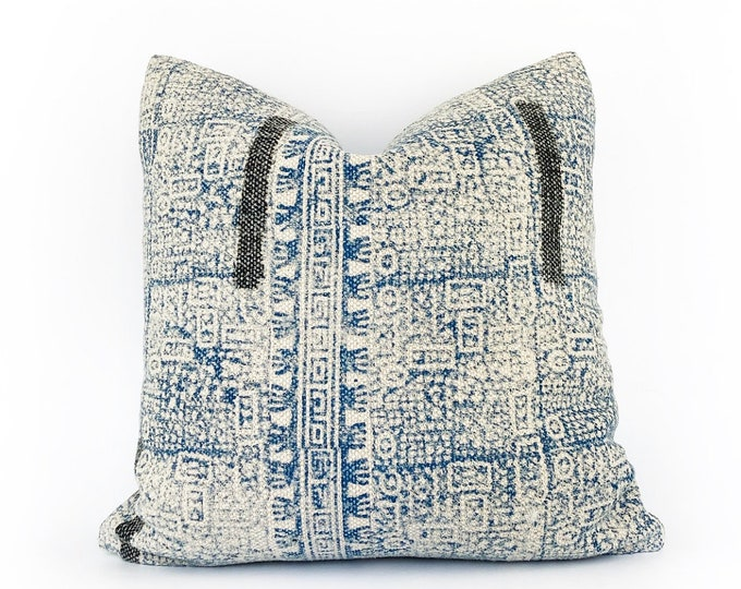 Hand Block Printed Tribal Pillow Cover Various Sizes