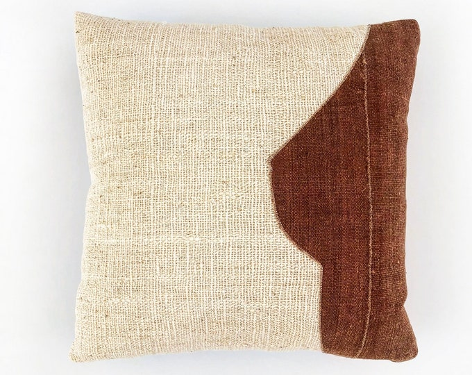 The Side Boob African Mudcloth Pillow Cover 20x20