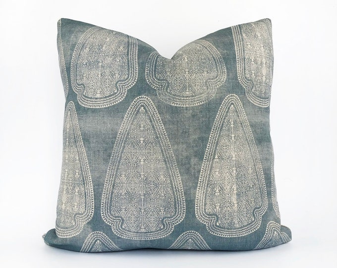 Designer Susan Connor Heavy Weight Belgian Linen Pillow Cover 20x20
