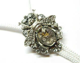 miniature skulls clock parts small honeymoon surprise rose golden unique birthday gift Gothic jewelry steam punk earrings Homo Steampunk