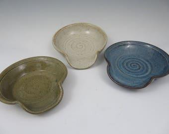 Ceramic Spoon Rest ~ Pottery Spoon Rest ~ Spoon Rest ~ Spoon Holder ~ Utensil Holder