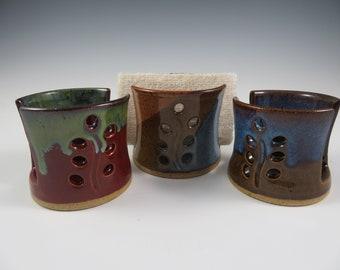 Sponge Holder ~ Ceramic Sponge Holder ~ Kitchen Sponge Holder ~ Sponget Holder ~ Sponge Rest ~ Pottery Sponge Holder